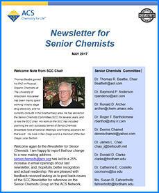 Senior Chemists Newsletter
