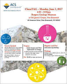 ChemTAG Conference on Geo-Science 2017-06-05